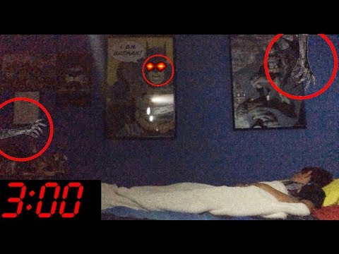 DO NOT RECORD YOURSELF AT 3AM *OMG GHOST CAUGHT ON VIDEO*