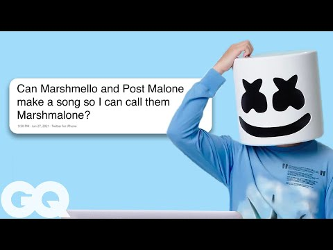 Marshmello Goes Undercover on Twitter YouTube and Reddit GQ