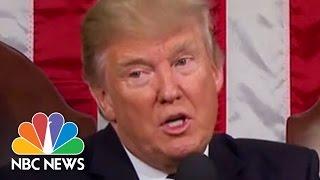 Donald Trump's 100 Days In 100 Seconds | NBC News