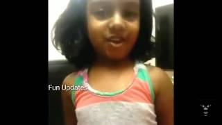 Super cute baby girl Dubmash  Oviya Bigg Boss Dialogue