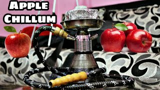 How to Make Chillum With Apple - Homemade Hookah Chillum