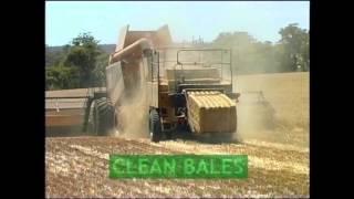 Capture weed seeds at harvest: Bale Direct System
