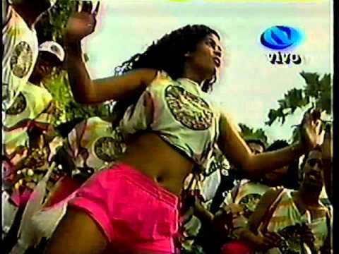 Gera Samba Carla Perez Jacaré e Débora Brasil. Carnaval 1996