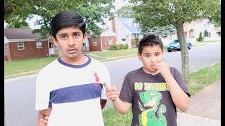 HATERS CAME TO MY HOUSE AND THREW ROCKS AT MY FAMILY!!! *caught them*