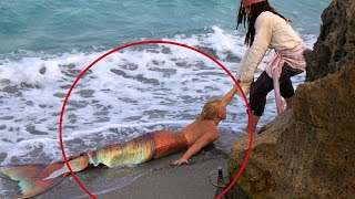 असली जलपरी को जिंदा पकड़ने की घटनाएं और जलपरी का रहस्य Real mermaid caught on camera