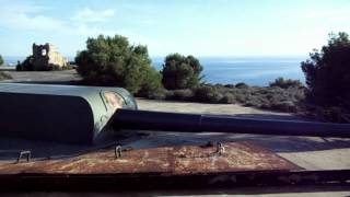 Bateria De Cenizas - Abandoned derelict gun battery nr Portman Spain