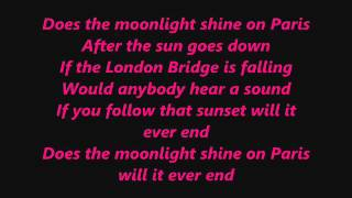 Moonlight Over Paris by  Paolo Santos with Lyrics!