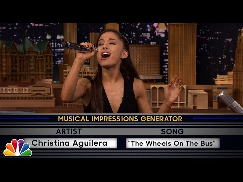 Wheel of Musical Impressions with Ariana Grande