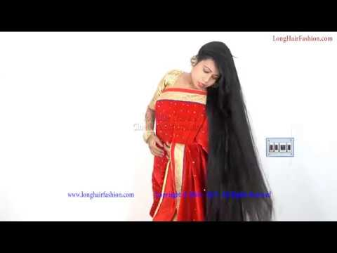 Indian Long Hair Model