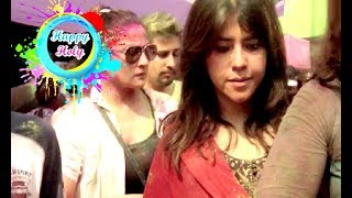 Ekta Kapoor At Holi Celebration Party 2018
