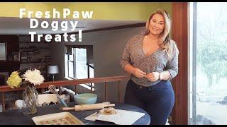 Olivia Jensen Reviews the Fresh Paw Box - Healthy Doggy Treats