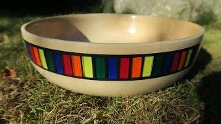 Woodturning The Leftovers Bowl
