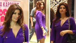 Hott Twinkle Khanna in Busty Dress at Book Launch