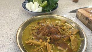آموزش مردونه ترين غذاي سال پاچه سيرابي غذاي مورد علاقه آشپزباشي (جوادجوادي)