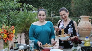 Stir Fried Mixed Veggies and Noodles Recipe - Heghineh Cooking Show