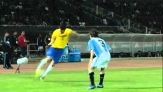 Globo Esporte destaca a lambreta de Leandro Damião no amistoso Brasil X Argentina