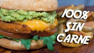 ℗ HAMBURGUESA vegetariana | Superpilopi