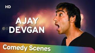 Ajay Devgan Comedy - Hit Comedy Scenes - अजय  देवगन हिट् कॉमेडी - Shemaroo Bollywood Comedy