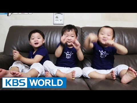 The Return of Superman - The triplets' Enchanting Dances