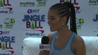 Halsey Talks G-Eazy, Her Love For Wawa & Her Dream Collab at Q102 Jingle Ball (Interview)