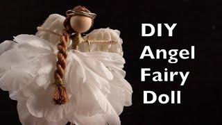 DIY Angel Fairy Doll | How To Make An Angel Fairy Doll Tutorial