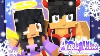 Snow Cuddles! | Angelsville Minecraft Survival [Ep.12]