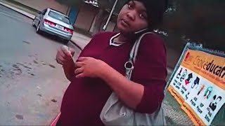 She's Pregnant & Black, They're Cops -- You Know How This Ends [Disturbing Video]