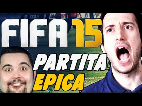 FIFA 15 - PARTITA EPICA CON CICCIOGAMER89