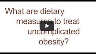 Obesity - Approaches to Treatment in Companion Animals