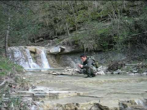 Pesca alla trota in torrente Aprile 2010