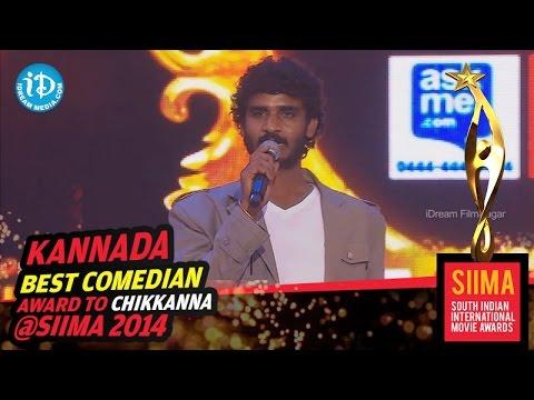Xxx Mp4 Chikkanna SIIMA 2014 Kannada Best Comedian Raja Huli Movie 3gp Sex