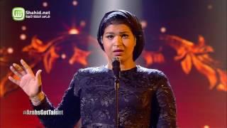 Arabs Got Talent- عرض النهائيات – إيمان الشميطي