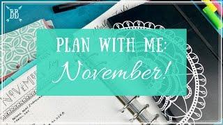 Plan With Me 11: November