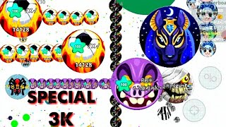 Agario Mobile -SPECIAL 3K SUBS // THANK YOU MY SUBSCRIBERS