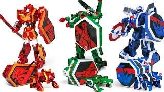 Geo Mecah Beast Guardion Lion Crocodile Rhino Animal Bot 3 Combo Transformers Robot Beast Toys