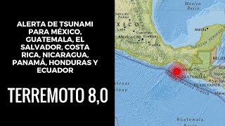 Primeras imagenes: Terremoto en México de 8.4 grados sacude México
