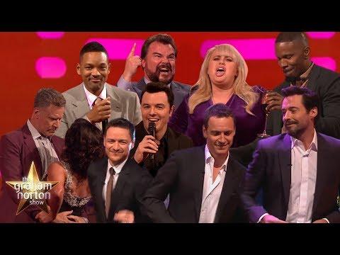 Celebrities Singing & Dancing on The Graham Norton Show