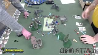 Bryan Hopkins (Borka) vs. Josh Wheeler (Rask)