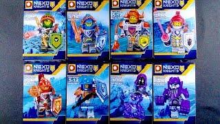 LEGO Nexo Knights Minifigures Aaron Clay Axl Lance Macy (bootleg / knock-off) DLP9047