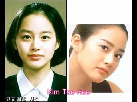 Korean celebs ver.3 childhood to present Female