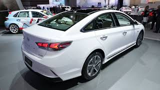2018 Hyundai Sonata Hybrid video preview