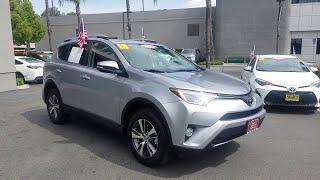 2018 Toyota RAV4 Los Angeles, North Hollywood, Van Nuys, Canoga Park, Pacoima, CA 390474