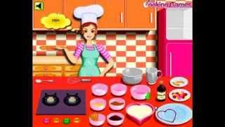 العاب طبخ فلاش - لعبة طبخ كعكة فرنسية