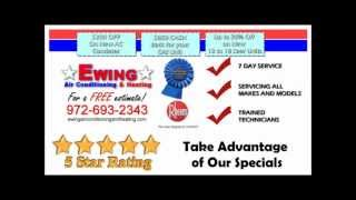 AC Repair Fort Worth Texas, Air Conditioning Service Fort Worth TX | Ewing Air Conditioning