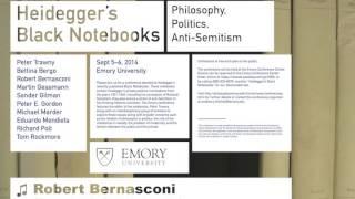 """""""Eisenmenger the Third? Heidegger's Antisemitism in Broad Historical """" by Robert Bernasconi, 2014"""