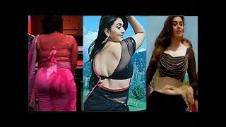 South Indian Beauty Queen Hansika Motwani Hot in Saree Back To Back Compilation
