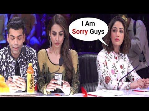 Xxx Mp4 Malaika Arora Khan And Karan Johar Ignores Yami Gautam For Coming Late At Indian S Got Talent Set 3gp Sex