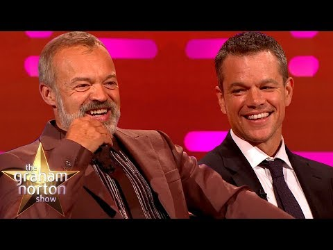 Matt Damon This is the Most Fun I ve Ever Had on a Talk Show