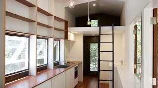 Video tour of our latest 'Portal' tiny house