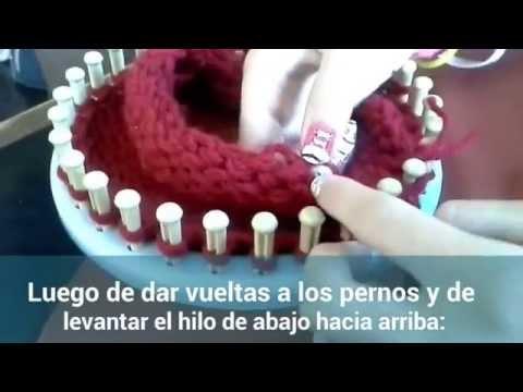 Gorro de lana para niños maria